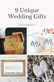 wedding gift ideas for unique wedding gifts