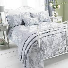 Bed Covers Set Paoletti Balmoral Floral Damask Jacquard Duvet Cover Set Ebay