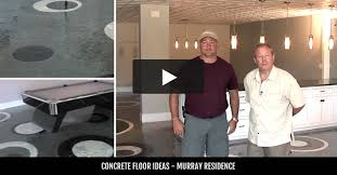 basement flooring why concrete is a good basement floor option
