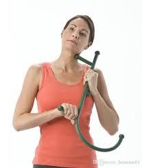 back hook hot thera back hook massager neck self pressure stick