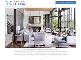 architectural digest home design show in new york city architectural digest design show 2016 will you be there the