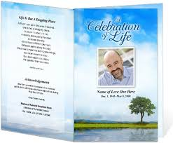 memorial service programs the 25 best memorial service program ideas on funeral
