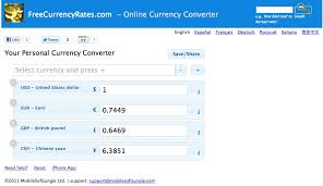 Currency Converter Personal Currency Converter With Easy Interface Today I