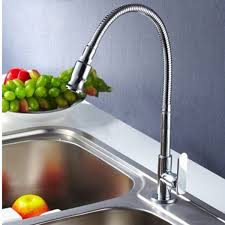 Spring Pull Down Kitchen Faucet Spring Sink Mixer Tap Kitchen Pull Down Swivel Spray Spout