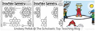 Symmetry Worksheets For Kindergarten Winter Math And Science Can Be