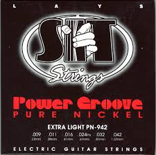 Light Guitar Strings by S I T Electric Power Groove Extra Light Strings Pn942