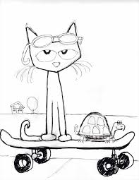 pete the cat guitar template geborneo club geborneo club