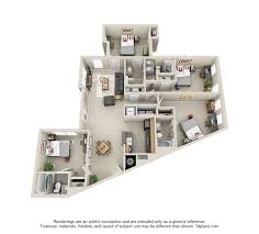 different floor plans affordable 2 3 4 bedroom student apartments in atlanta ga