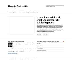 Neque Adipiscing An Cursus by The Thematic Feature Site Theme U2013 Themeshaper