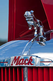1952 l model mack pumper truck ornament photograph by