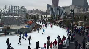 best outdoor skating rinks in and around chicago nearest