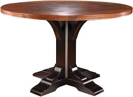 Hammered Copper Dining Table Dining Tables Round Copper Top Dining Table Mexican Copper Table