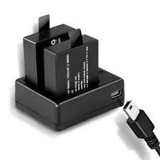 l with usb charger 2pcs pg1050 1050mah battery usb charger for sjcam sj4000 sj5000x