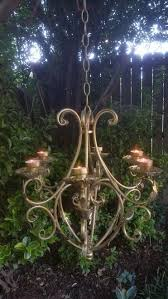 Candle Hanging Chandelier Best 25 Hanging Candle Chandelier Ideas On Pinterest Diy Candle