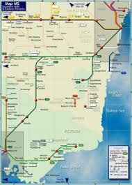 map of new south wales southern new south wales rail map southern new south wales
