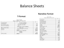 balance sheets balance sheet introduction balance sheet