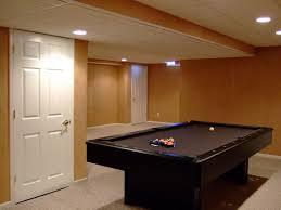 Easy Basement Ceiling Ideas by Warm Basement Lighting Ideas Low Ceiling Nice Basement Lighting
