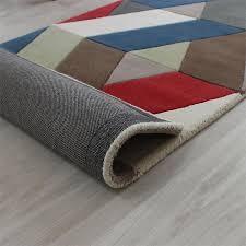 Chevron Runner Rug Uk Buy Funky Chevron Multicolour Rugs In Wool Land Of Rugs