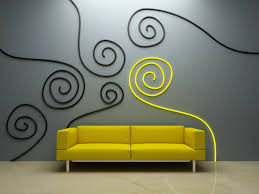 manly interior design wall decor yellow sofa ceramic ing interior