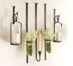 Candle Sconces Pottery Barn Best 25 Wall Mounted Candle Holders Ideas On Pinterest Wall