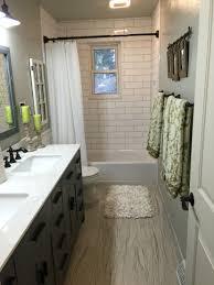 Spray Paint Bathroom Vanity Upstairs Hallway Bathroom Brazilian White Pecan Floor 4 X 12 White
