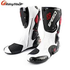 dirt bike motorcycle boots riding tribe men s motorcycle long boot speed racing shoes bota off