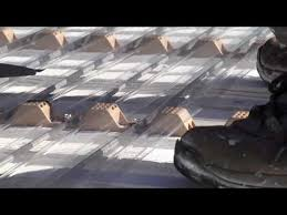 Fiberglass Awning Panels Clear Roof Installation Youtube