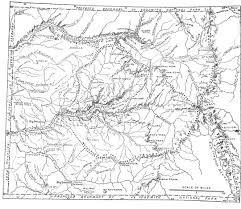 Map Of Glacier National Park Features Of The Proposed Yosemite National Park By John Muir The