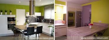 cuisine coloré des exemples de cuisines colorées iterroir