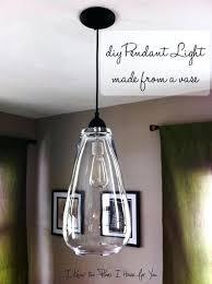 Diy Pendant Light Fixture Pendant Light Kit Diy Jar Hanging Light Diy