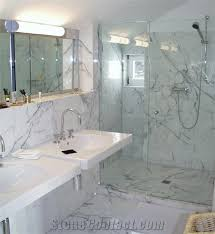 Lovely Carrara Marble Bathroom Ideas Designs Inspiring Exemplary Carrara Marble Bathroom Designs