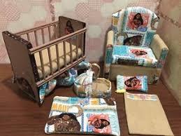 barbie baby nursery set furniture crib sofa carrier moana ebay