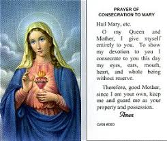 prayer cards of the consecration to paper prayer card 100 pack