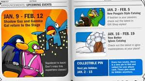 club penguin gift card coloring page bubblegum423 s club penguin guides page 2