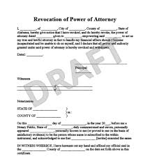 power of authority template create a revocation of power of attorney legaltemplates