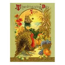 thanksgiving postcard zazzle