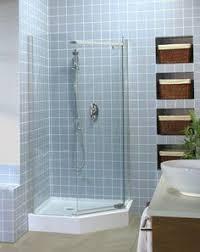 38 Inch Neo Angle Shower Doors Bathtub Enclosure Dreamline Neo 41 X 41 Shower Base And Backwall