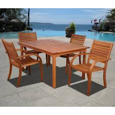 best eucalyptus hardwood furniture patio sets in 2018 teak patio