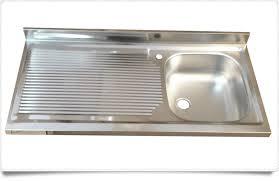 lavello cucina acciaio inox gallery of nuovo mobile per cucina con lavello acciaio inox 100x50