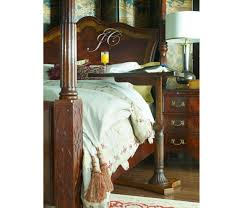four post bed us queen four poster mahogany bed