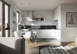 Living Dining And Kitchen Design by 20 Sleek Kitchen Designs With A Beautiful Simplicity