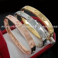 love bangle bracelet images New women 39 s charity love bangle bracelet bbargainsshop jpg