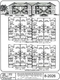Best Rental Property House Plans Images On Pinterest Rental - Apartment building design plans