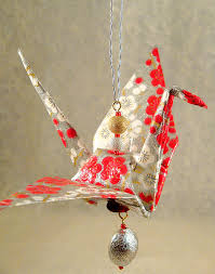 how to make a paper crane ornament japanese legends