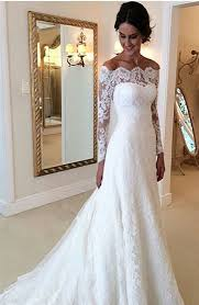 wedding dress no 15 gorgeous the shoulder wedding dresses society19 uk