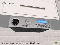 under cabinet kitchen radios kitchen radio under cabinet home design ideas and pictures