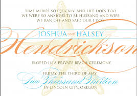 elopement invitations how will you announce your elopement weddingbee