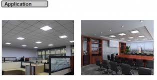 pixi led flat light installation flat led panel light 600x600 42w ip50 3015lm 3 5kg 120 beam angle