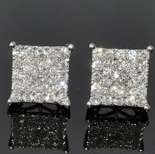 real diamond earrings for men diamond earrings for men hd mens xl diamond stud earrings square