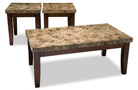 Marble Living Room Tables Montibello Coffee Table Set Bobs Discount Furniture On